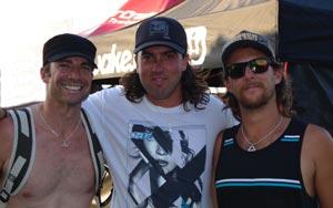 Travis Moye, Kyle Rattray, Trevor Hansen